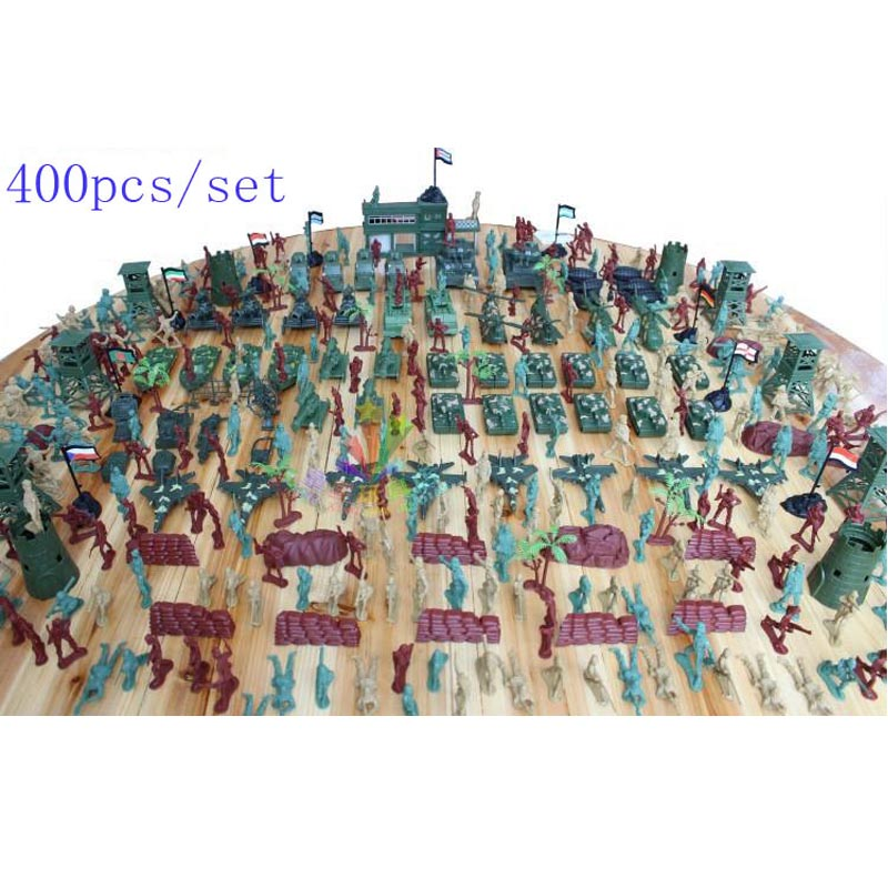 Free shipping 400pcs/set nostalgic model of World War II soldiers, Plastics Military Model Kit boys toys birthday Christmas gift платье orby orby or012egubx43