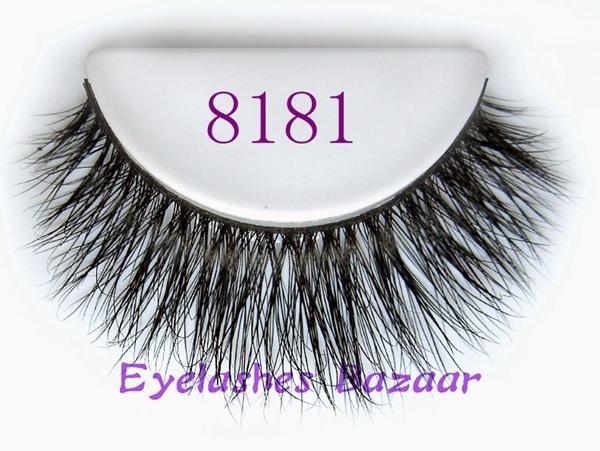 Frete grátis 8181 1 pçs/lote fasion cruzamento longo macio cílios cabelo cavalo