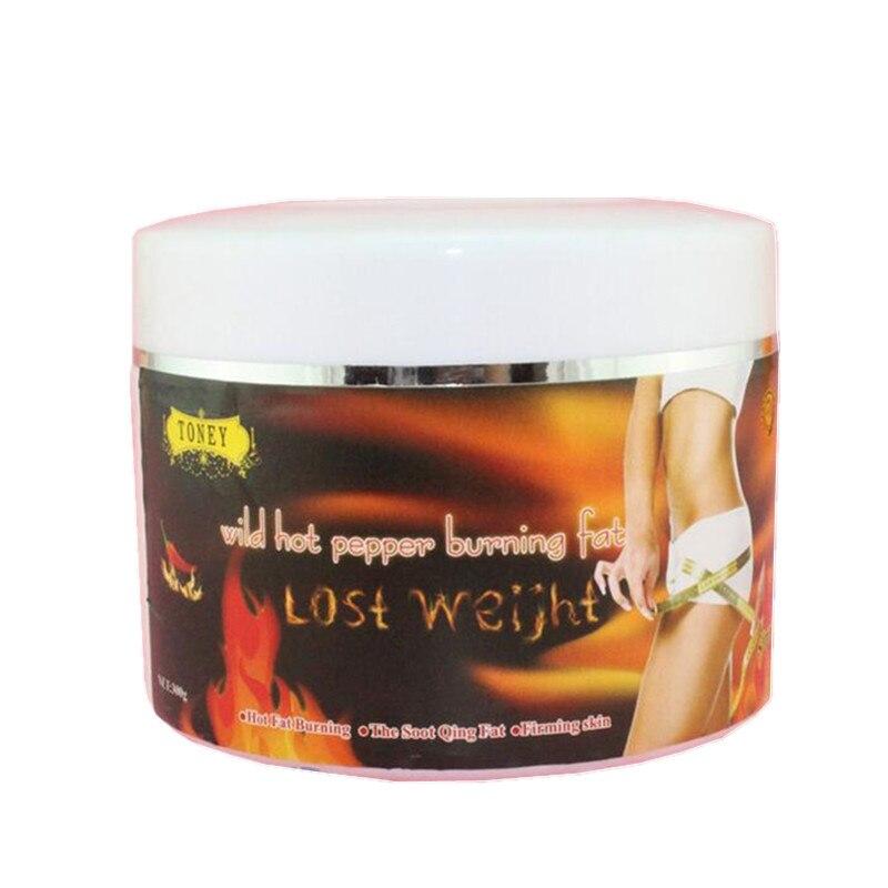 Red capsaicin massage slimming cream Thin leg waist reduce ...