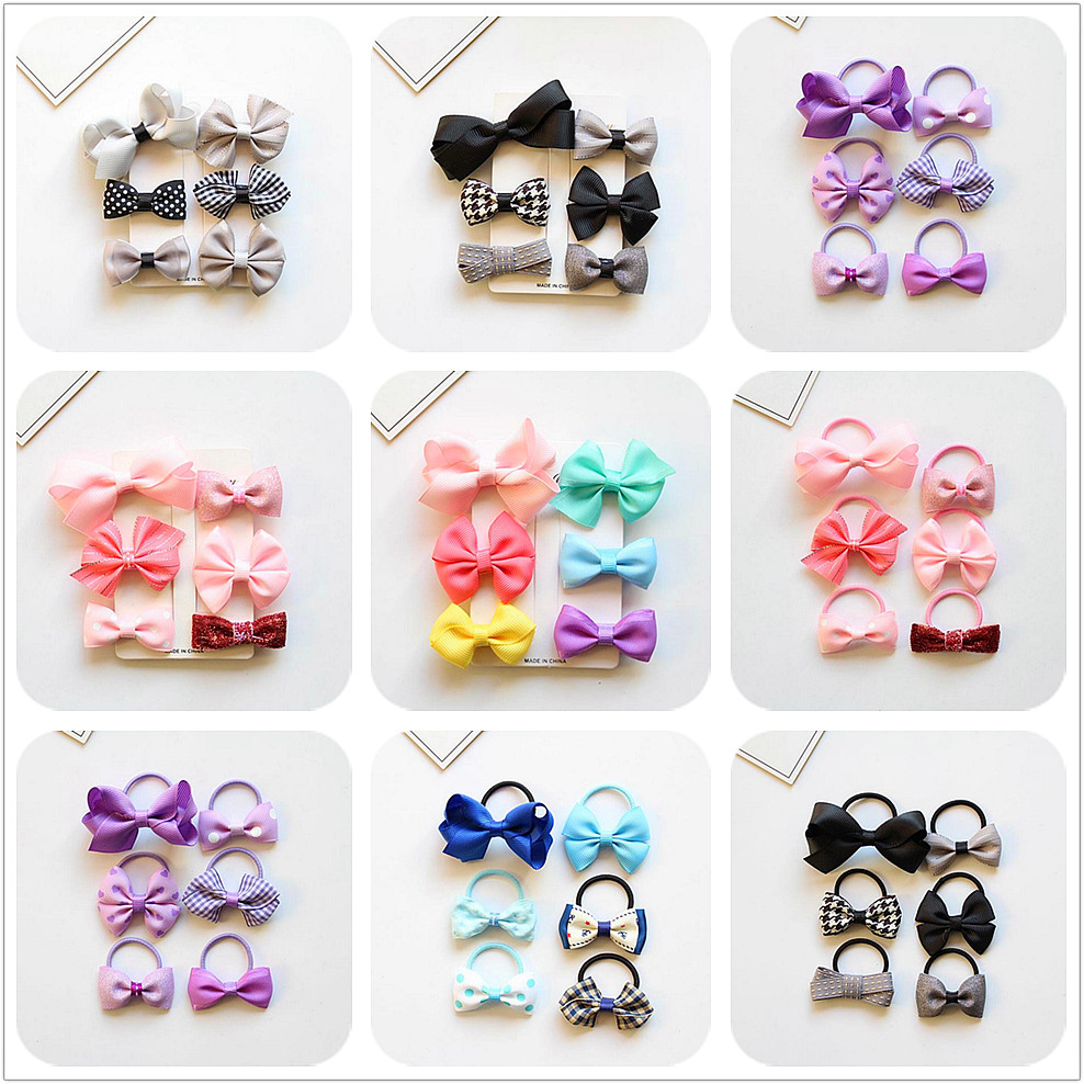 Grosgrain Ribbon Kids Boutique Hair Bow Alligator clip toddlers elastic hair rubber bands hair ties girls hair accessories Z21 grosgrain ribbon kids boutique hair bow alligator clip toddlers elastic hair rubber bands hair ties girls hair accessories z21
