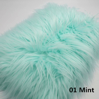 100*100cm Faux Fur Blanket Basket Stuffer Mongolia Fur Newborn Fotografia Photography Props Backdrops Background Fleece