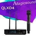 740-765 МГц!! QLXD24 QLXD2 QLX-D24 Диверситивные UHF Профессиональная Беспроводная Микрофонная Система с Алюминиевой коробке