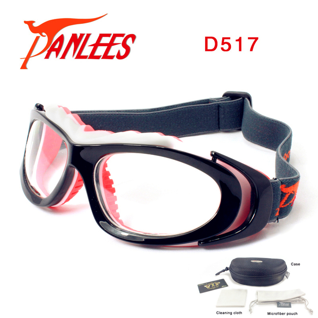556581d6782 Panlees Handball Volleyball Basketball Prescription Glasses Sport Goggles  For Soccer with Elastic Strap Free Shipping
