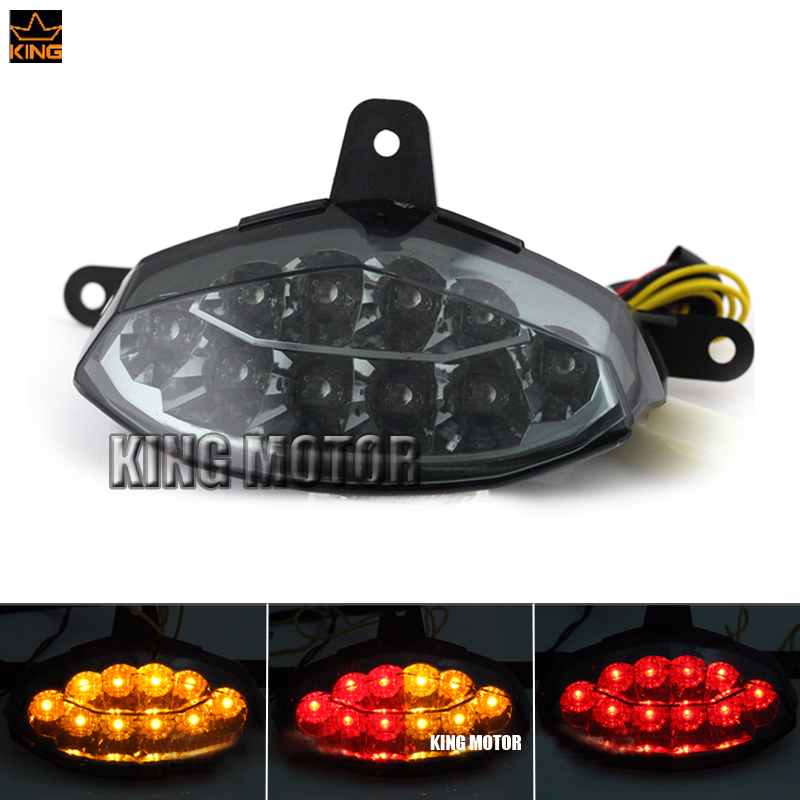 For KTM 125 200 390 DUKE 2012-2015 Motorcycler Accessories Integrated LED Tail Light Turn signal Blinker Smoke motorcycle front rider seat leather cover for ktm 125 200 390 duke