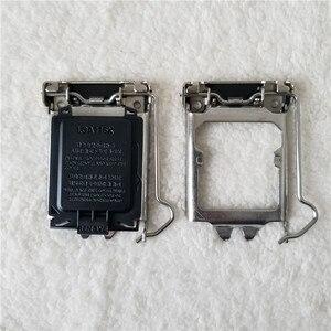 Image 1 - 100 개/몫 원래 LGA115X CPU 소켓 커버 홀더 철 쉘 CPU Scket 보호