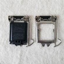 100 pz/lotto Originale LGA115X CPU Socket Supporto Della Copertura Della Protezione di Ferro Borsette per CPU Scket