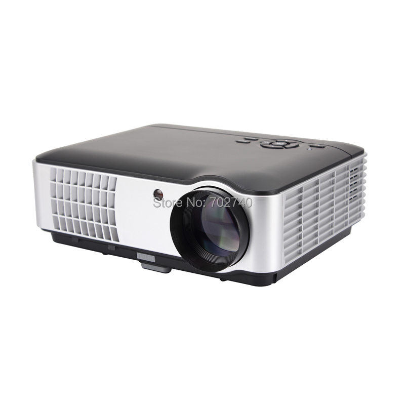 2017 Nuevo Smart TV Proyector 5600 Lúmenes Proyector Digital Full HD 1080 P LED