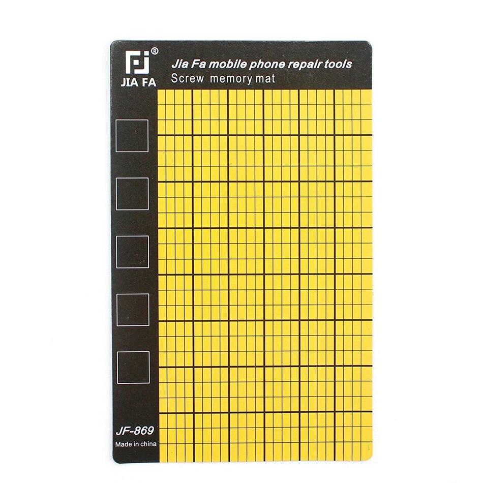 Universal Magnetic Screw Mat Phone Screws Storage Mat Memory Chart Working Pad Mobile Phone Tablets Repair Tools 145x90mm