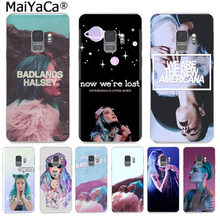 MaiYaCa Halsey Colors paroles Badlands Ultra téléphone sac pour Samsung S9 S9 plus S5 S6 S6edge S6plus S7 S7edge S8 S8plus couverture(China)