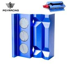 PQY-алюминиевый линейный сепаратор тиски Щековые Защитные вставки намагниченные для фитингов с магнитной задней PQY-SLV0304-01