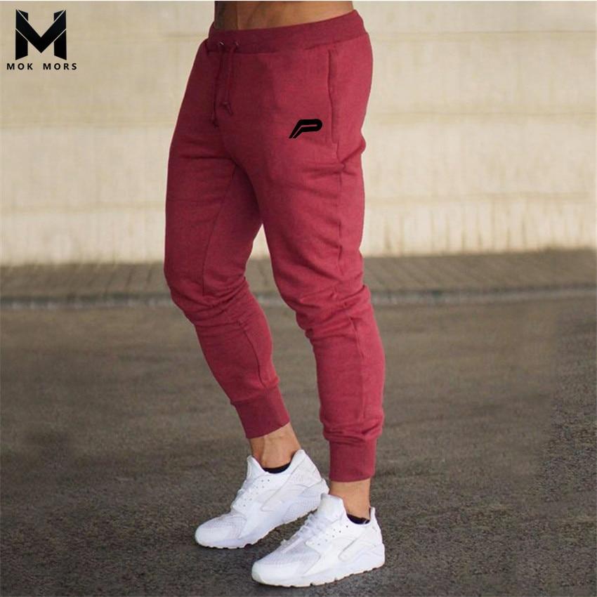 88205faf559 Осенне-зимние мужские новые спортивные штаны для фитнеса и бега ...