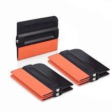 Foshio 5 шт виниловая наклейка магнитный скребок для окон оттенок