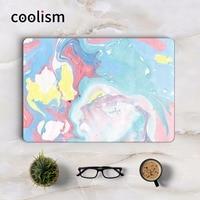 Mieszane Kolor Marmur Pełne Pokrycie Skóry Naklejka na Laptopa dla Apple Macbook Air Pro Retina 11 12 13 15 cal Notebook HP Ochronne naklejka