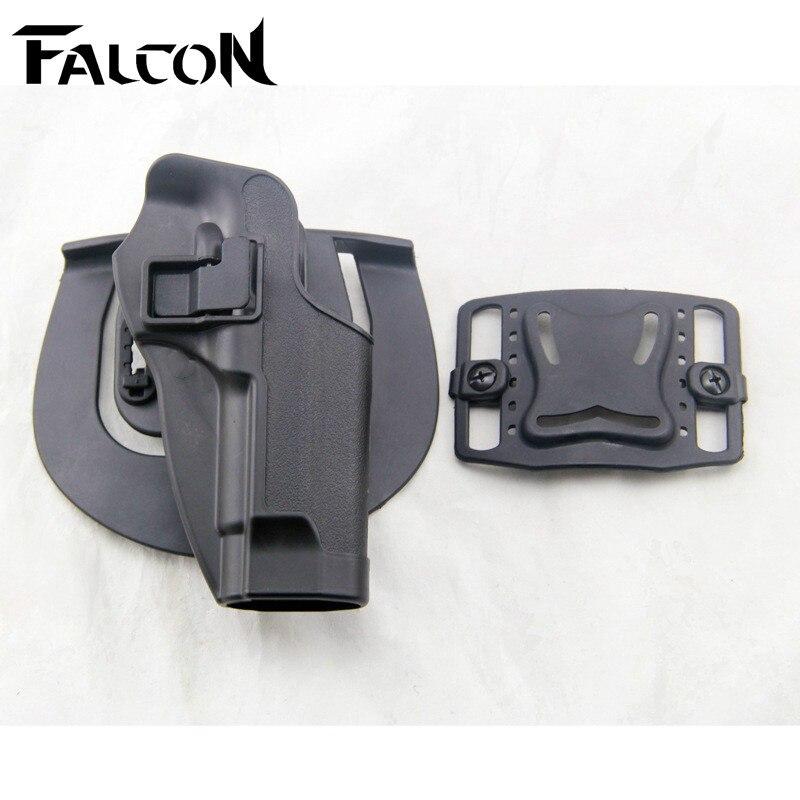 Polymer Tactical Quick Draw Diestro para Cinturón Holster fit para 1X Caza Pisto