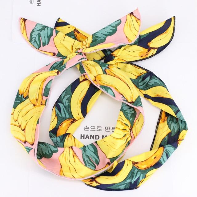 1 PC New Arrival Cloth Hairbands Headbands for Women Cotton Elastic Hairbands Sport Headband for Women Hair Accessories Headwear 2