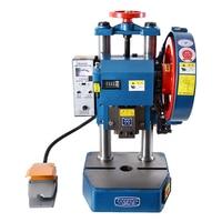 Electric Punching Machine Pedal Manual Dual purpose Punching Press Desktop Punching Machine JB04 3T 220V/380V 0.65Kw (320*300mm)