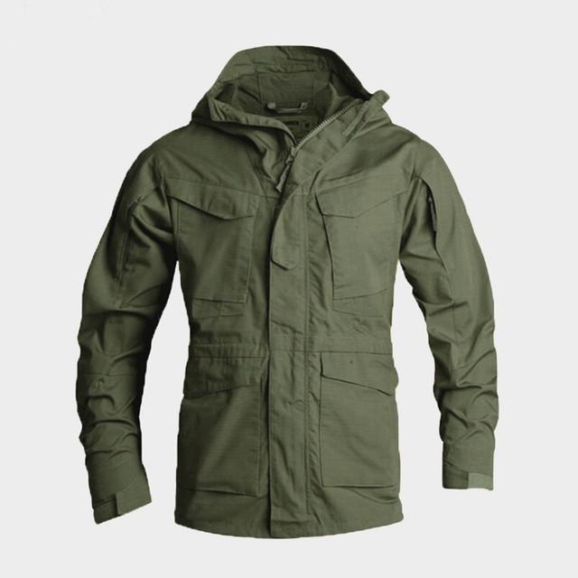 Men Tactical Clothing US Army Windproof Military Field Jacket Coats Hoodie Casaco Masculino Windbreaker Men Autumn winter