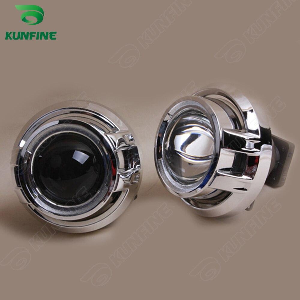 Kit de lente de proyector HID bi xenon de coche de 3,0 pulgadas con cubierta de Cayenne incluye bombilla D4S HID para faro de coche alta baja alta baja y haz - 5