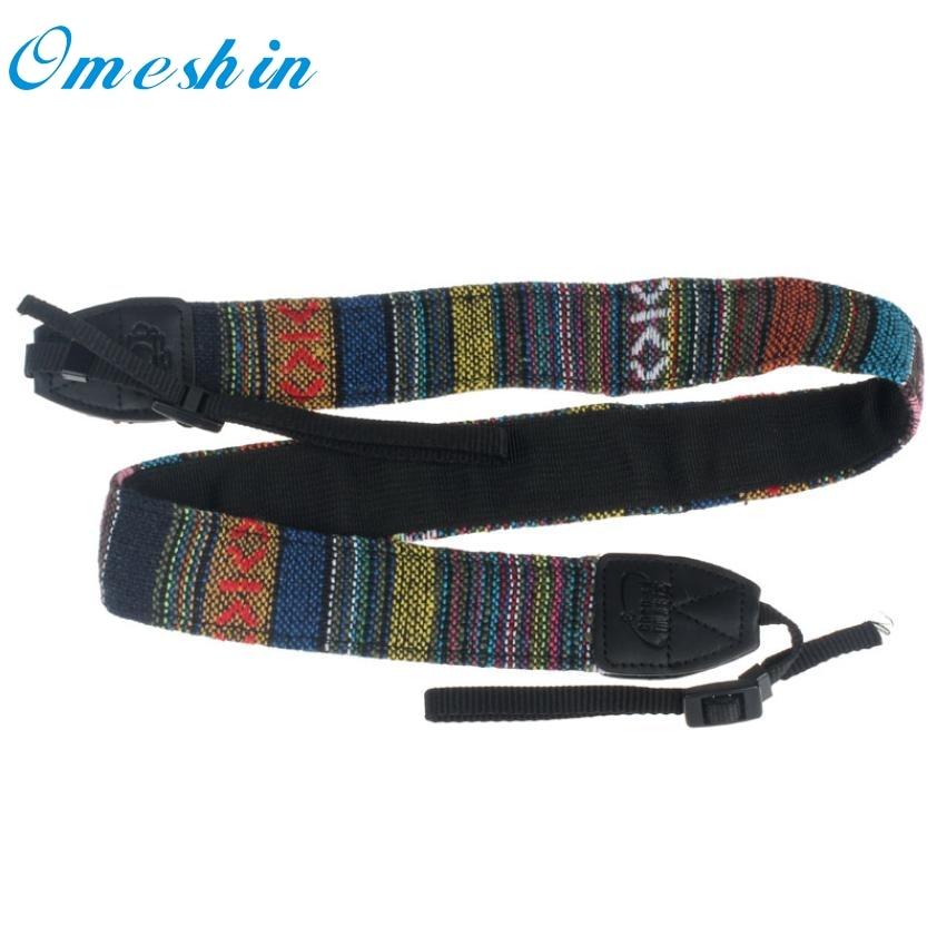 Beautiful Gift New Blue Camera Shoulder Neck Strap Belt For Nikon SLR DSLR Wholesale price Feb15