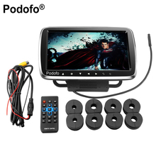 Podofo 9 Car Headrest Monitor With DVD Display Screen KTV Music Player