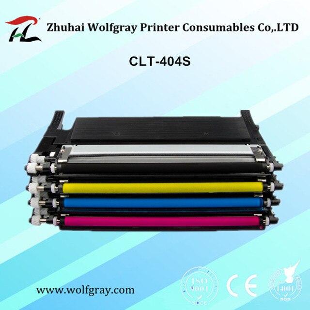 CLT-K404S CLT-M404S M404S clt-404s CLTK404S CLT-Y404S 404S toner cartridge for Samsung C430 C430W C433W C480 C480FN C480FW C480W