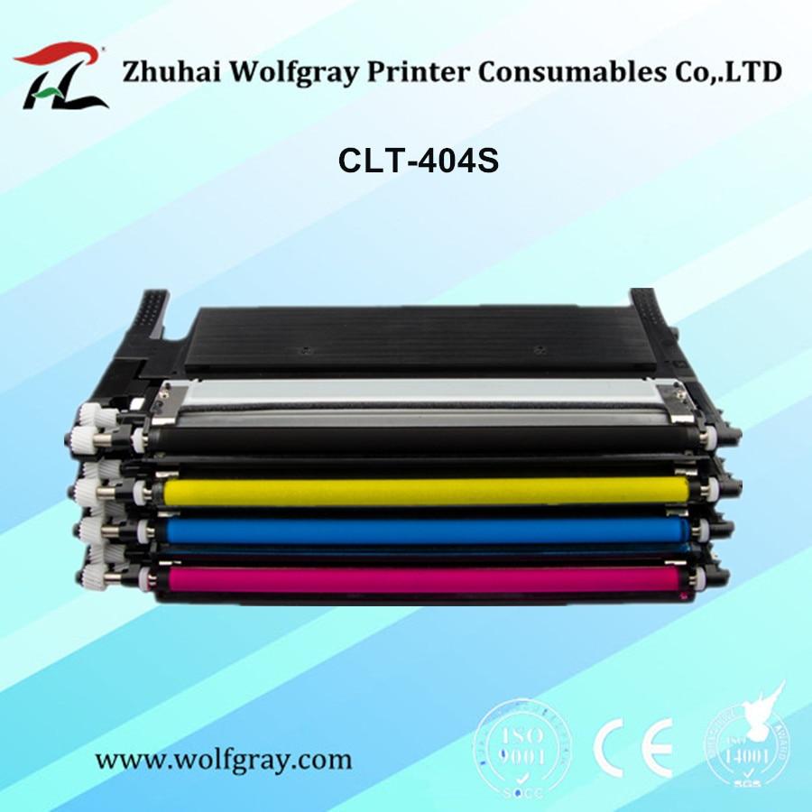 Toner Cartridge untuk Samsung CLT-K404S K404S Clt404s Clt-y404s Y404S 404 S C430 C430W C433W C480 C480FN C480FW C480W