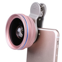 POFAN Universal 2 In 1 58mm 0 6X Wide Angle Lens With Macro Lens Clip For
