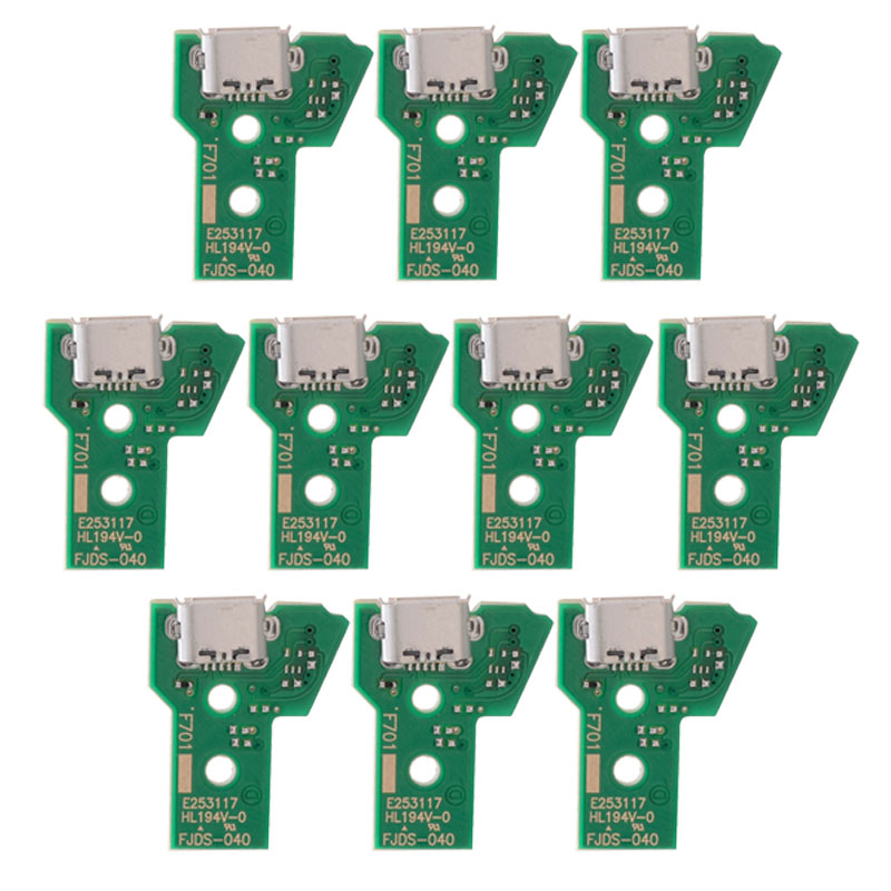 PS4/PS4slim/PS4 pro Breathing Lamp Charging Socket Board Ribbon Cables for Dualshock 4 JDM-001 JDM-011 JDM-040 Controller