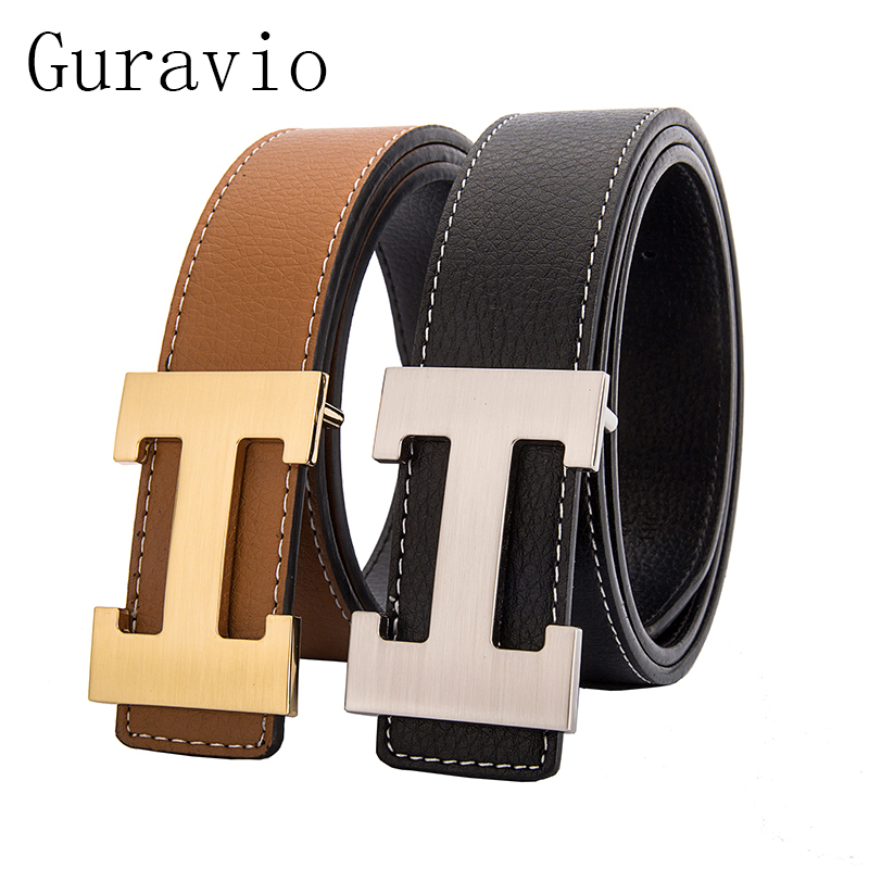 H Designer Luxury Brand   Belts   for Mens Genuine Leather Male Women Casual Jeans Vintage Fashion High Quality Strap Waist