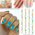 1pcs Beauty Nail Foil Decorations Tools Water Transfer Nail Art Stickers Wholesale Birds Decals Stickers Nails Flowers