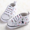 Embroidered Baby Shoes Anti-Slip Soft Boom First Walkers Fashion Baby Girl Shoes Flowers Design Infant Babe Protect Shoes