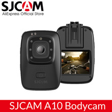 SJCAM A10 Portable Body Camera Wearable Infrared Security Camera IR-Cut Night Vision Laser Positioning Action Camera