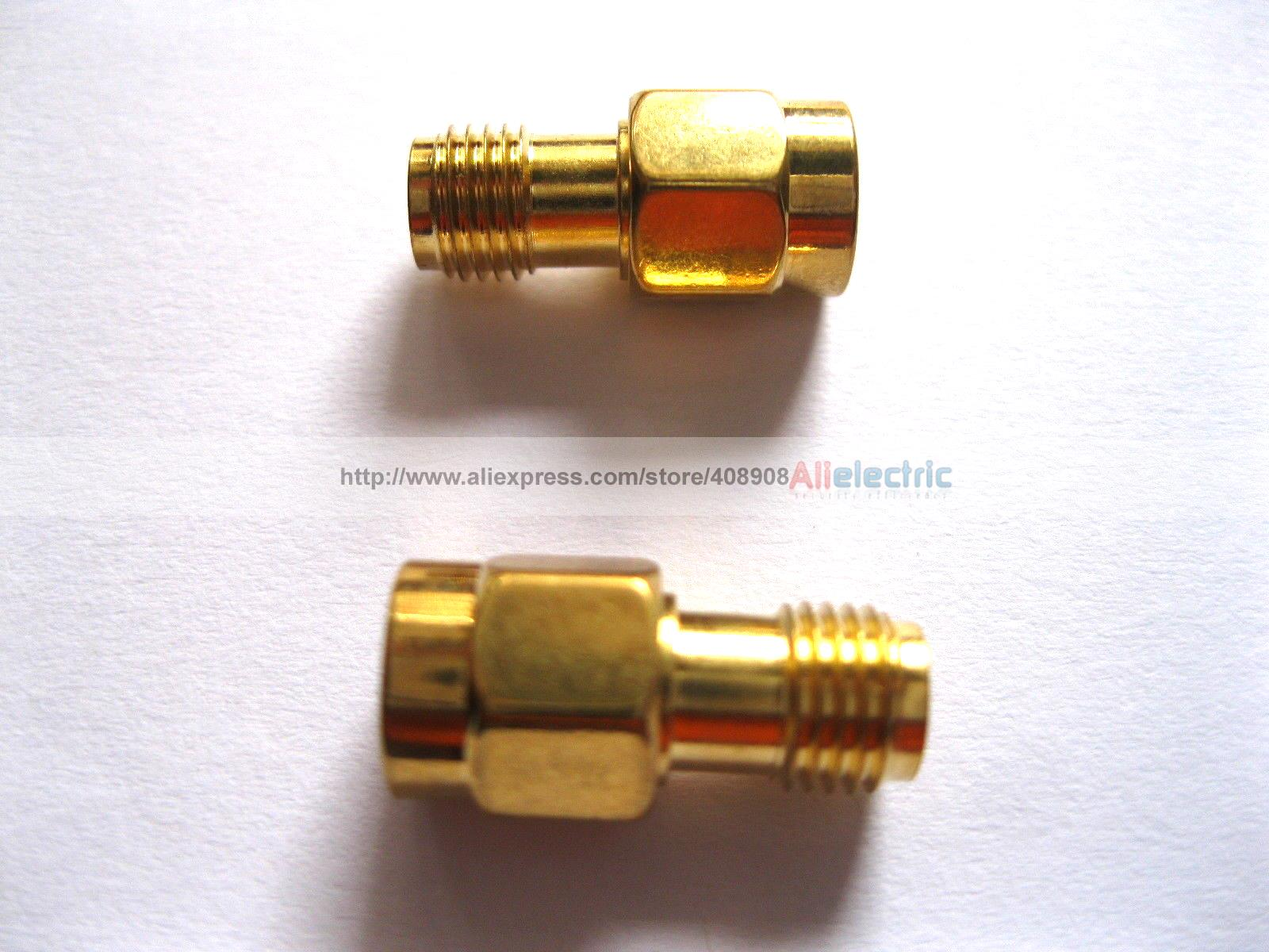 20/lot Pcs SMA RF Female to Male Adapter Coaxial Connector 10 pcs rf coaxial adapter sma female to mcx male straight new