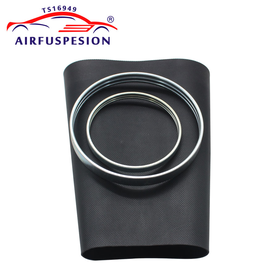 For Audi A8 D3 4E Front Pillow Rubber Sleeve with rings Air Suspension Repair Kit Bladder