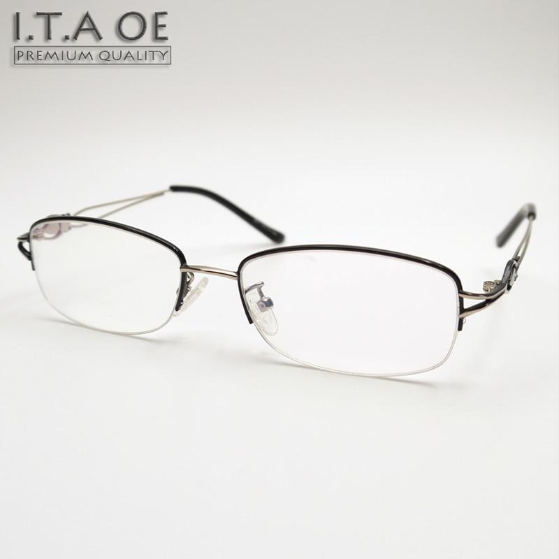 ITAOE Model Grace 2 Quality Alloy Women Optical Prescription Glasses ...