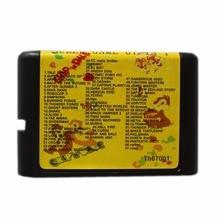 Super Game 67 In 1 16 bit MD Game Card For Sega Mega Drive For Genesis