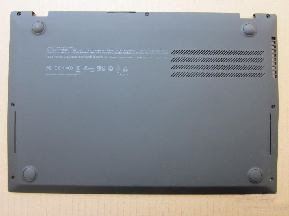 New Original for Lenovo ThinkPad X1 Carbon Gen 1 2013 Base Bottom Case Cover 04W3910 new original 14 8v 46wh laptop battery for lenovo thinkpad x1 carbon gen 1 3444 3448 3460 45n1070 45n1071