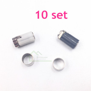 Image 1 - 10 set original used Hinge Axle Shell Repair Parts for Nintendo DS Lite for NDSL Game Console Repair