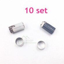 10 set original verwendet Scharnier Achse Shell Reparatur Teile für Nintendo DS Lite für NDSL Spielkonsole Reparatur