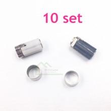 10 set originale usato Cerniera Assale Borsette Parti di Riparazione per Nintendo DS Lite per NDSL Console di Gioco di Riparazione