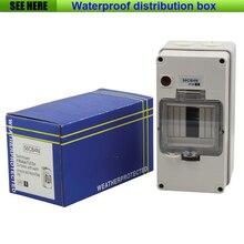 Бесплатная Доставка IP66 Водонепроницаемый Открытый Распределительная Коробка 4 Способ Воздуха Swith Поле Высокого напряжения Распределительной Коробки 200*100*100 мм