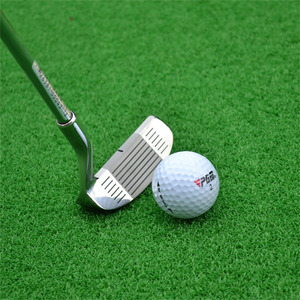 Image 3 - PGM Golf Double side Chipper Club Stainless Steel Head Mallet Rod Grinding Push Rod Chipping Club golf putter for Outdoor sports