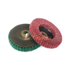 2 pieces 100 16mm non woven combi abrasive polishing disc angle grinder tools metal finish.jpg 250x250