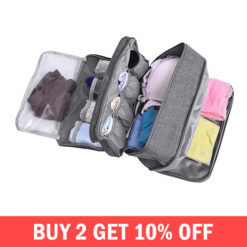 Women Underwear Bags Ladies Travel Compartment Wash Cosmetic Clothes Organizer Fashion Bra Storage Cases Accessories SuppliesWomen Underwear Bags Ladies Travel Compartment Wash Cosmetic Clothes Organizer Fashion Bra Storage Cases Accessories Supplies