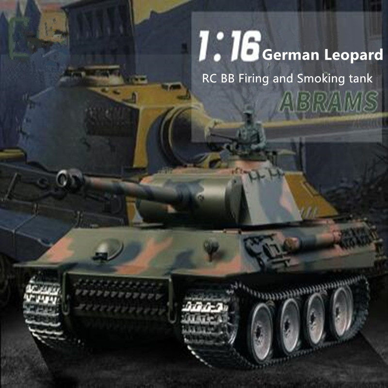 3819 update verison remote control rc <font><b>tank</b></font> 1/16 2.4G metal or plastic Battle <font><b>Tank</b></font> with BB Bullet Shoot simulation sound <font><b>tank</b></font> toy image