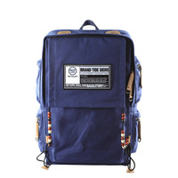 Fashion Laptop Backpack Women Trendy Large Capacity School Bag Bohemian Style Bead Men Designer Casual Canvas