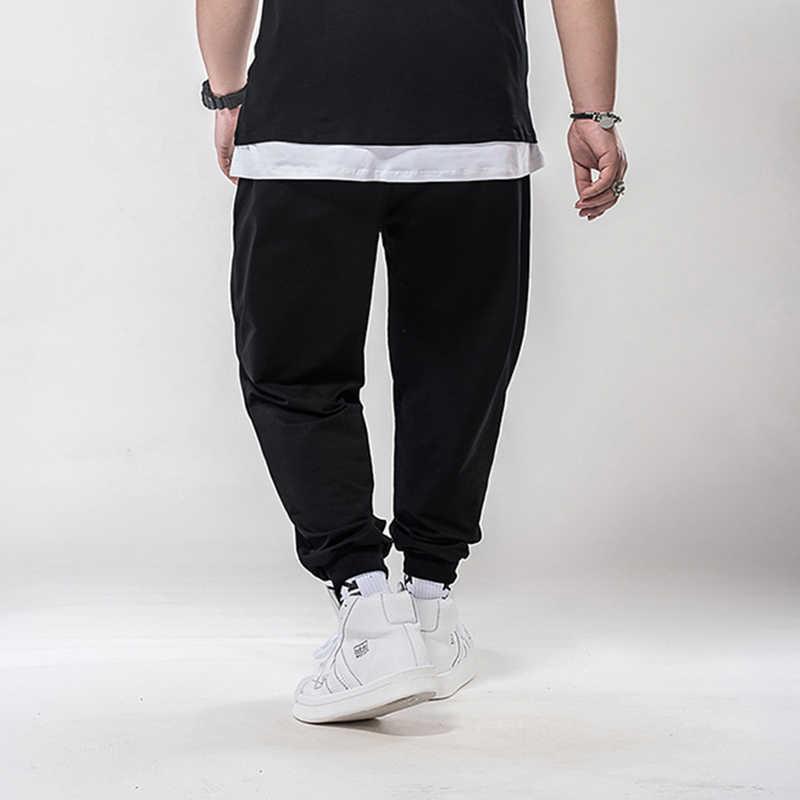 Gersri китайский уличный стиль Мужские штаны для бега спортивные штаны хип-хоп брюки мужская одежда M-7XL уличная Мужские штаны повседневные брюки