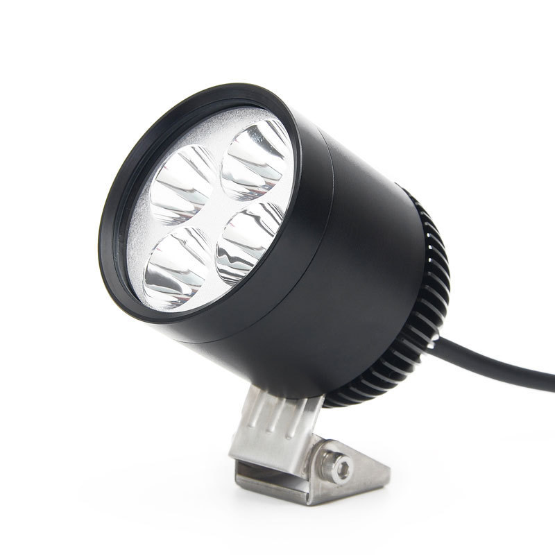 LDDCZENGHUITEC 1 PC 4 led chip 12W 2 Color R3 Motorcycle Motorbike led Headlight Spotight LED