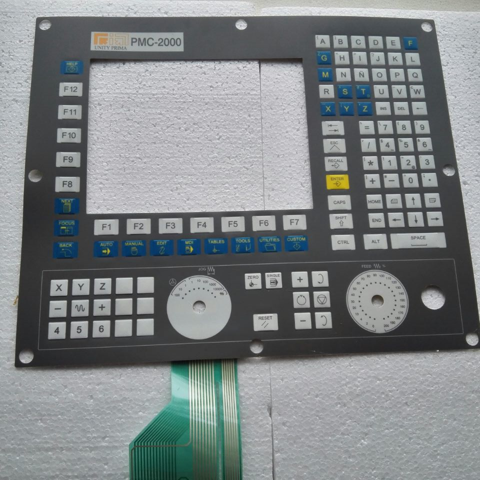 Membrane Keypad For 8070-OL-ICU Prima laser PMC-2000 repair, Have in stock