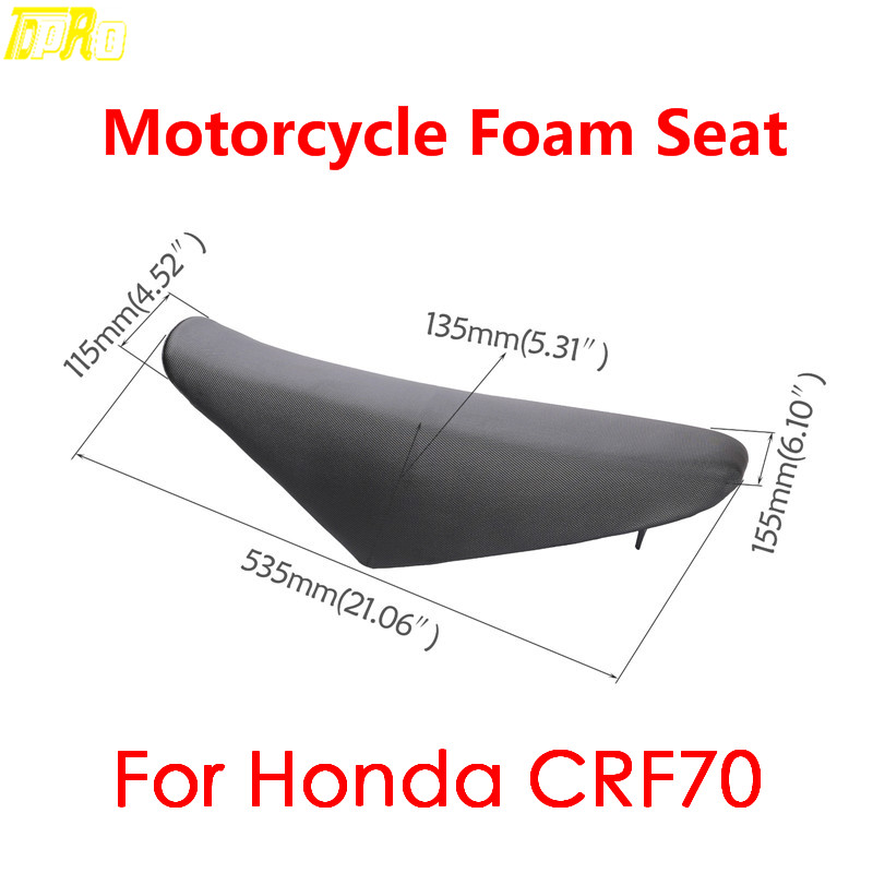 Groovy Us 25 64 5 Off Genuine New Motorbike Gripper Seat Foam Cover For Honda Crf70 Dirt Pit Bike Motorcycle Seats Cushion 125Cc 140Cc 150Cc On Aliexpress Creativecarmelina Interior Chair Design Creativecarmelinacom